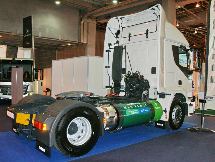 <LNG IVECO Stralis tractor